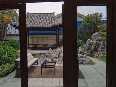 乌衣水镇 高端别墅区 徽派风格 人工湖 自带温泉池 露台阁楼使用面积340平