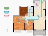 和顺东方花园三室两厅一卫 东坡中学对面 产证齐全 可按揭二实验小学和东坡中学