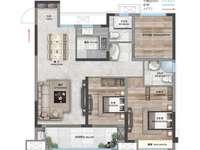 联想科技园荣盛锦绣官邸,科技住宅,高铁站对面,轻轨口,南北通透三室二厅