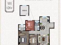 市政府旁 无税无尾款 楼王 3室2厅2卫107平米89万住宅
