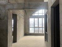 城南市政府旁 轻轨口 高速东方天地高层顶楼复式 纯毛坯 可做4室2卫