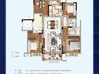 区政府旁 双湖公园对面 高速 公园壹号4室2厅2卫128平米75万住宅
