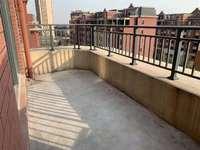 五月广场对面珑熙庄园 三室,全天阳光,前面是洋房,双开间长阳台,