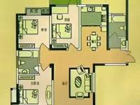 城南新城文昌花园洋房三室两厅,南北通透,无税,纯毛坯,