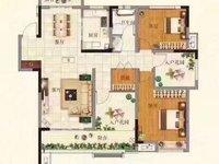 城北汽车站主路金山路旁益林铭府顶楼纯东边户122平毛坯四室两厅两户报价78.8万