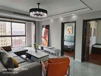出售尚城国际 四室两厅 约120平 纯边户 南北通透 中央空调 豪装全配 采光好