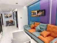 拼手速同乐东苑 电梯洋房 黄金好楼层约105平 两室豪装全配 中央空调 拎包入住