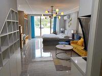 买一层送一层 城北复试公寓,挑高4.8米,惠民菜场旁,民用水电通燃气