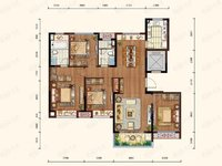 出售北京城建 珑熙庄园3室2厅2卫128平米136万住宅