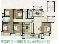 城南湿地公园旁 金鹏珑玺台大平层洋房 标准6室2厅3卫 纯毛坯平层洋房
