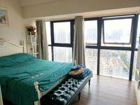 五中学区,泰鑫现代城乐彩城公寓边户,52平米,43万,精装全配,无税