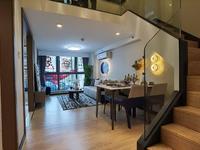 市中心通燃气的挑高复试公寓,七彩世界双层白领公寓配套完善首付10万起