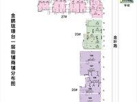 出售金鹏 珑璟台准现铺滨河学校旁临街商铺49平米准现铺