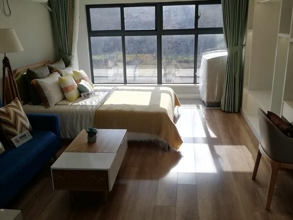 滁宁轻轨地铁口,高铁站旁,LOFT挑高公寓,首付8万,购属于自己的一套房