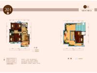 市中心金鹏麓山院6加1 墅质电梯洋房 顶楼复式 赠送80平大露台
