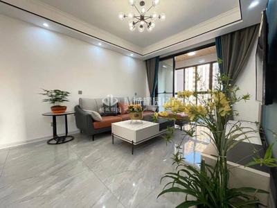 和顺东方花园,全新精装婚房全配,黄金楼层,108平3室,129.8万,看中好谈