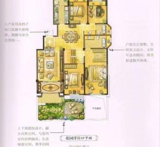 洋房送院子,送地下室!鑫缘英仕公馆5室4厅3卫300平米182万住宅