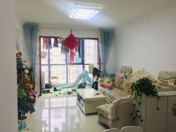 恒大绿洲 精装3室 拎包入住 低楼层 采光无遮挡