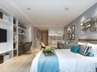 高铁站复式公寓可做三个卧室, 买一层送一层 18分钟到南京 ,投资首选