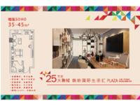 城南轻轨站口 金鹏99城市广场 70年产权公寓 实验 六中学区