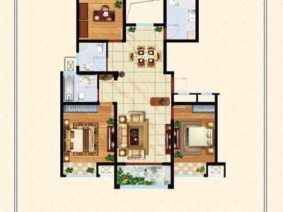 急卖 裕坤丽景城 六中学区 两室两厅 客厅通阳台 无税无尾款