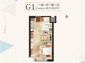 公寓一室一厅一厨一卫